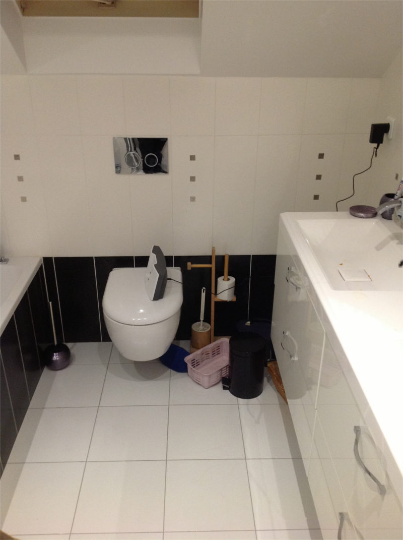 Travaux salle de bain id es d 39 images la maison - Travaux salle de bain ...
